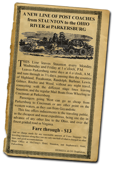 Turnpike Stagecoach Ad